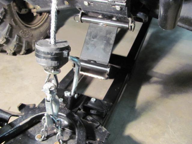 Polaris Side By Side Atv >> Snow plow install help - Polaris ATV Forum