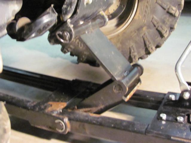 Side By Side Atv >> Snow plow install help - Polaris ATV Forum