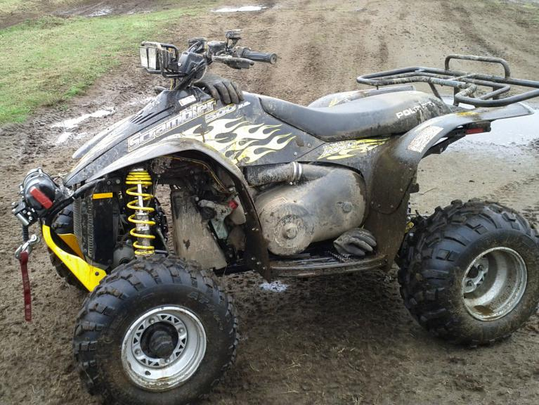 Can Am Renegade >> Looking for pics of winch on Scrambler - Page 4 - Polaris ATV Forum