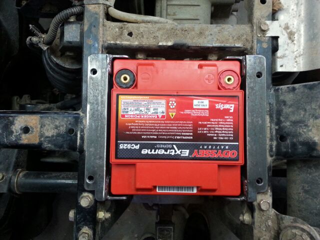 Sportsman 500 Battery Relocation Page 2 Polaris Atv Forum