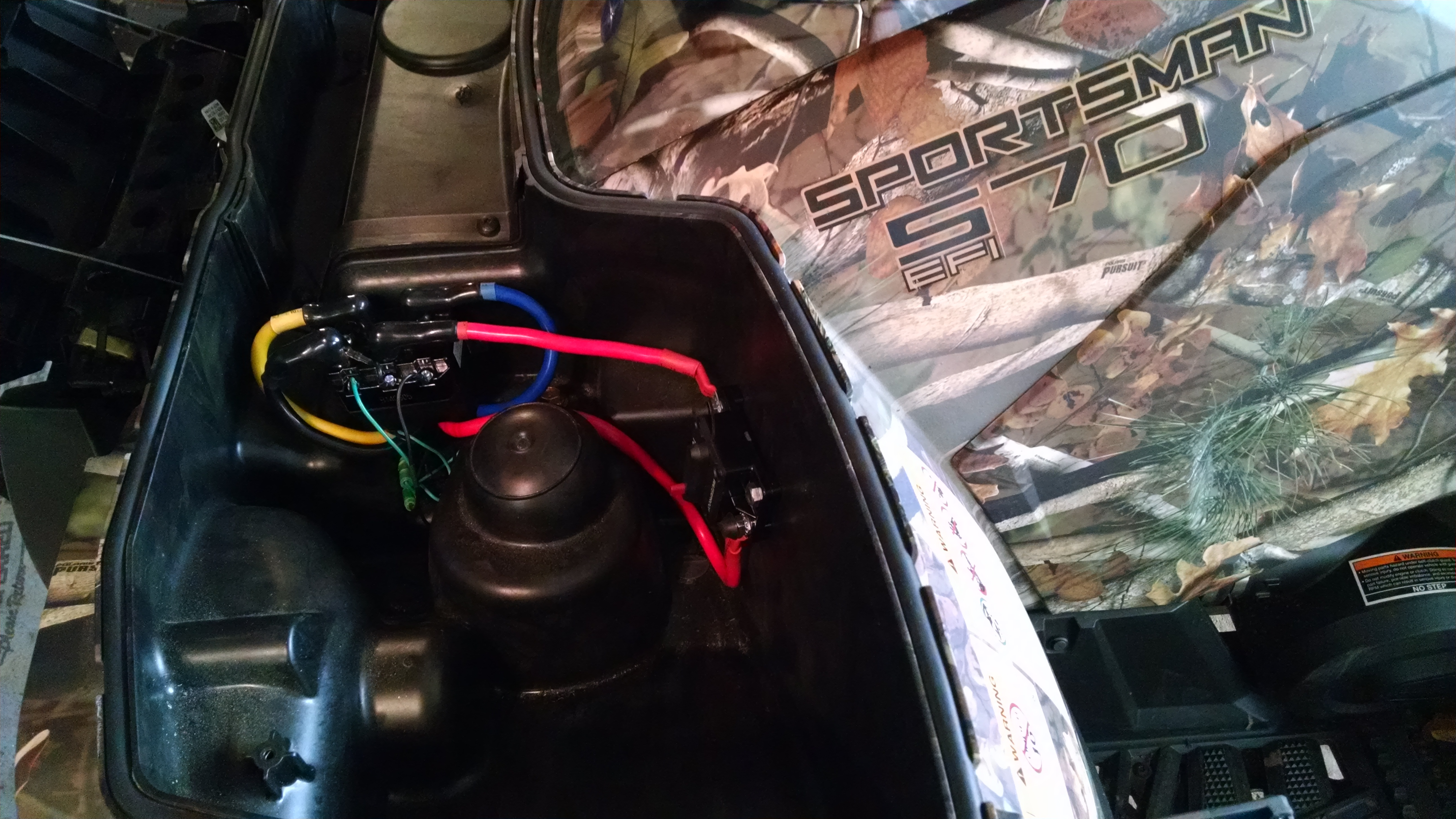 wire harness terminal winch install help polaris atv forum  winch install help polaris atv forum