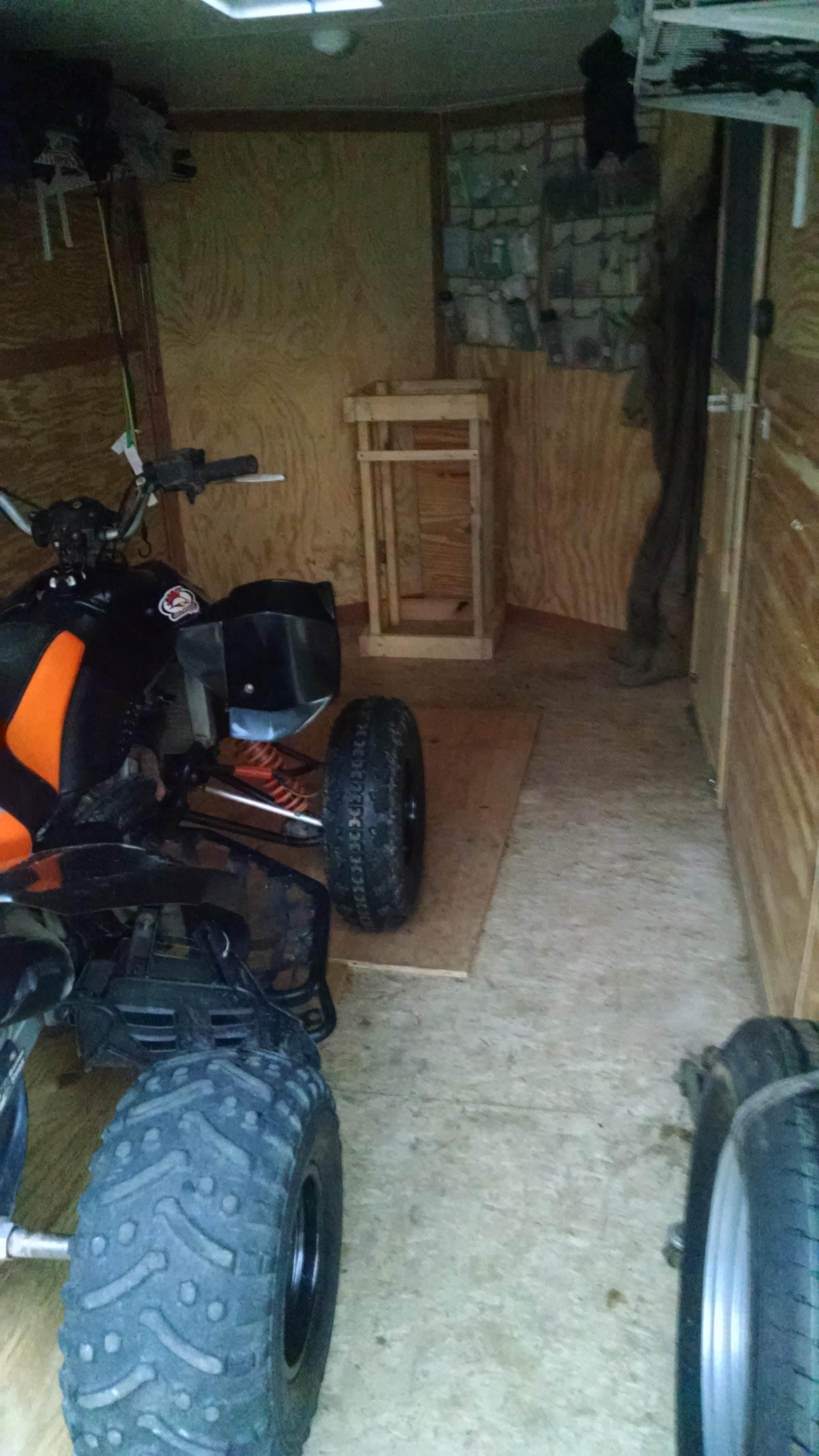 2015 Polaris Rzr >> Enclosed trailer/toy hauler build - Polaris ATV Forum