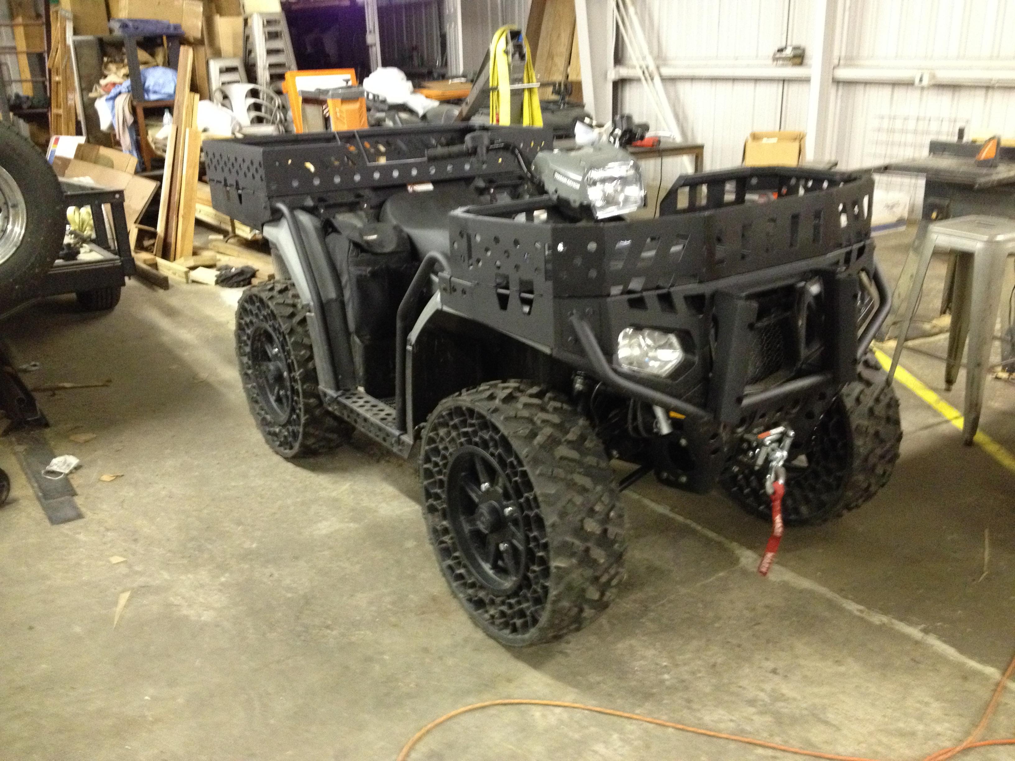 Cnc Machine For Sale >> Custom fabricated cnc cut racks - WV850 - Polaris ATV Forum