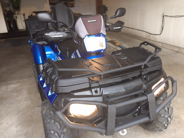 Modified Front Rack For 850 Touring With Cargo Box