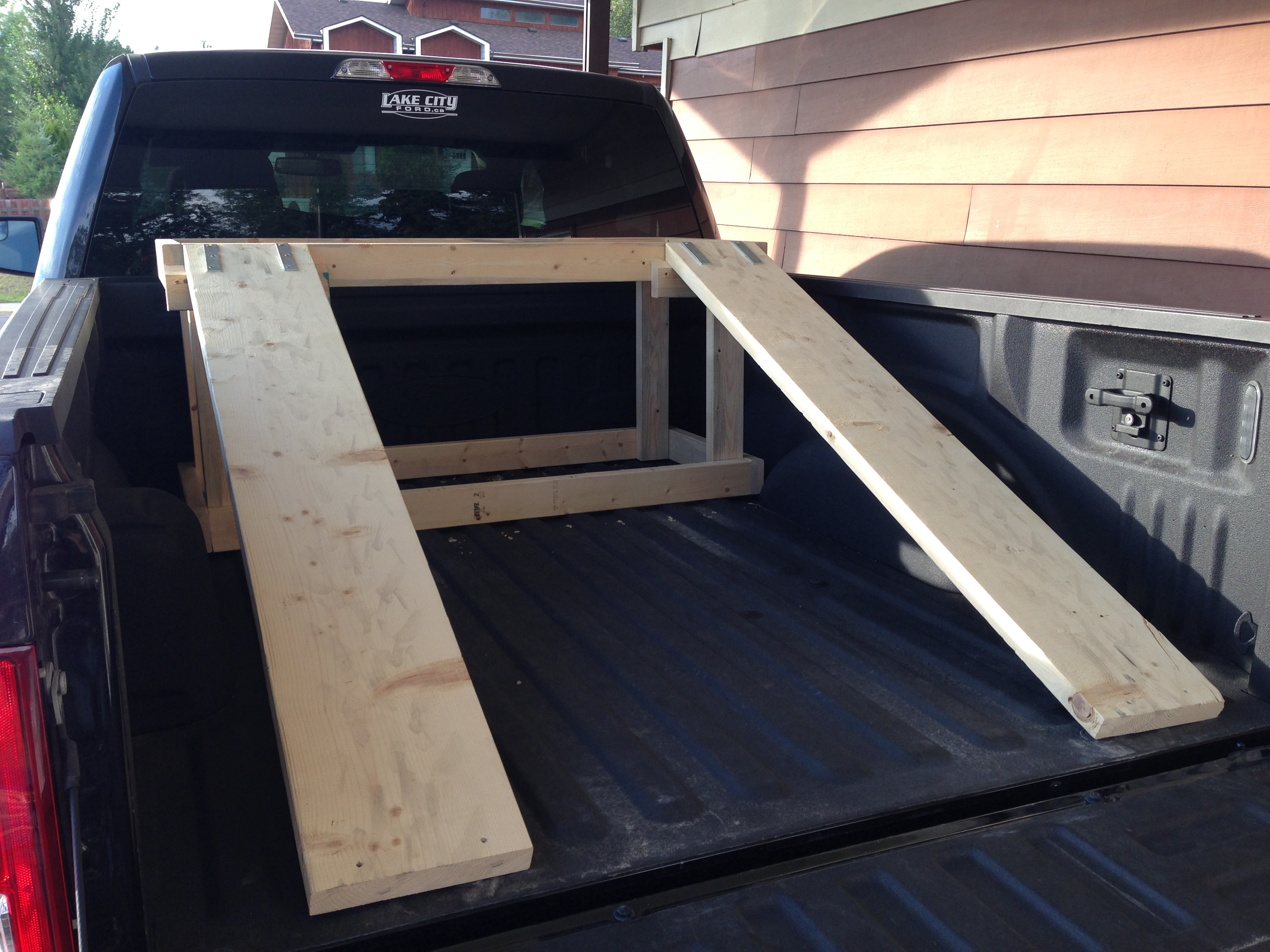 Pickup Truck Ramps >> ATV Truck Bed Riser - Page 2 - Polaris ATV Forum
