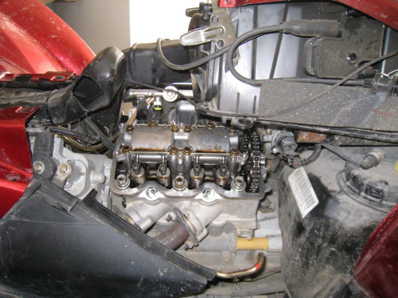 850xp oil in the airbox (breather kit) - Polaris ATV Forum