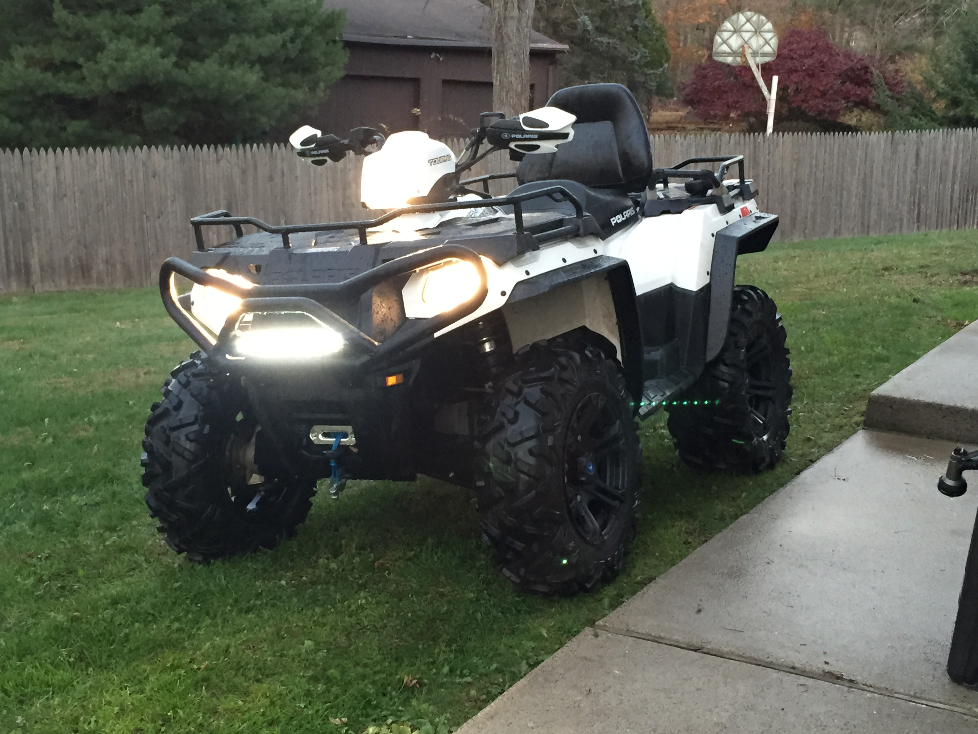 Sportsman 570 Overfenders Installed Pics Polaris Atv Forum