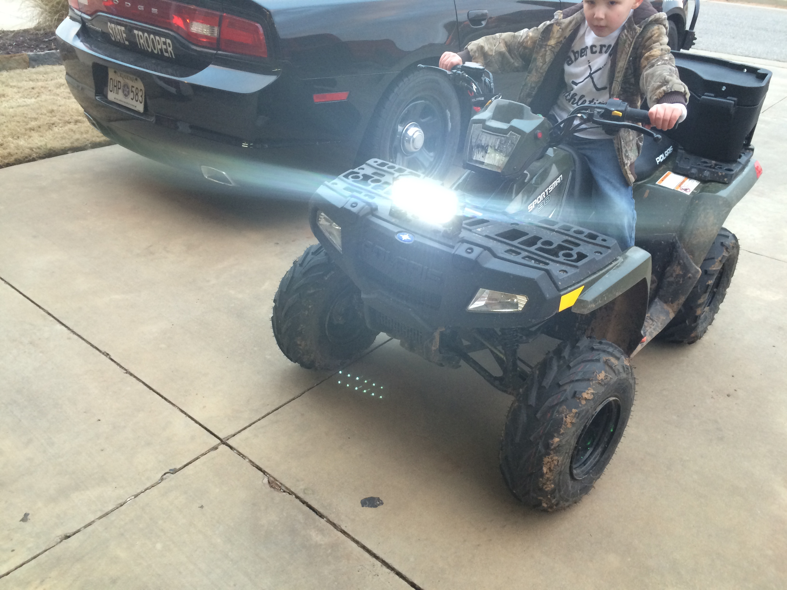 New Polaris Sportsman 90 Owner Mod Questions Page 2