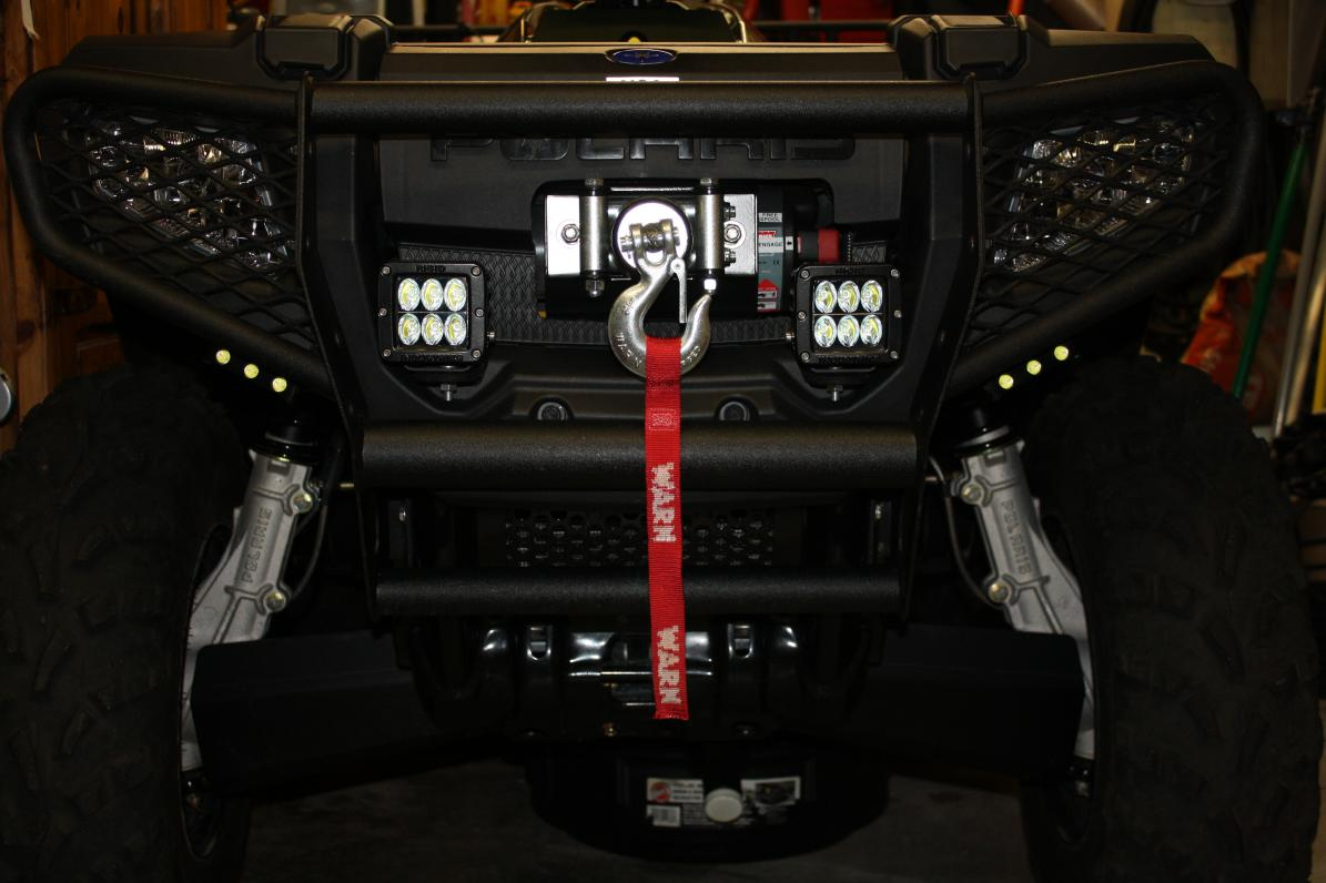 After winch install question    - Polaris ATV Forum