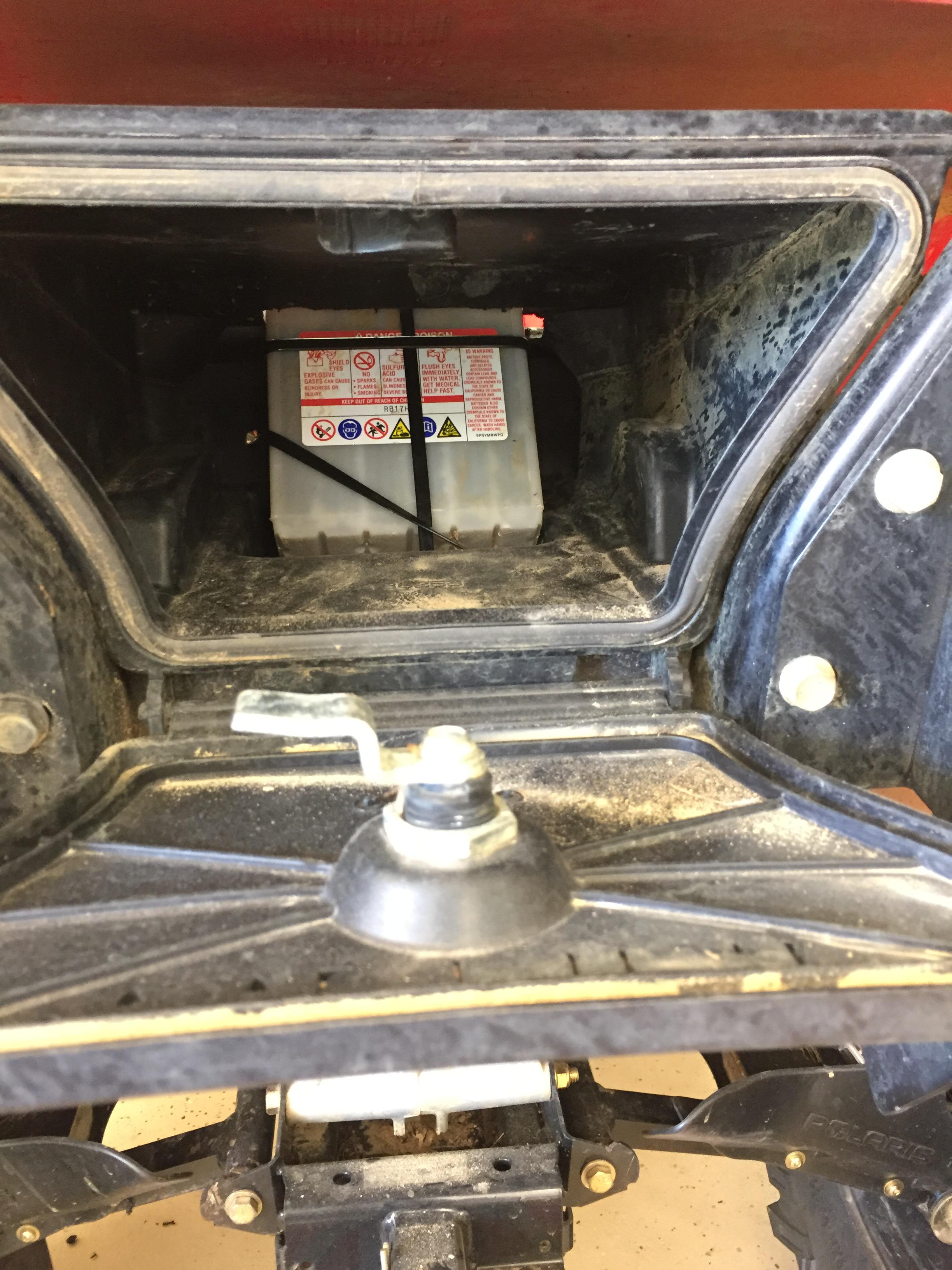 570 Battery Relocation Must Be Done Polaris Atv Forum