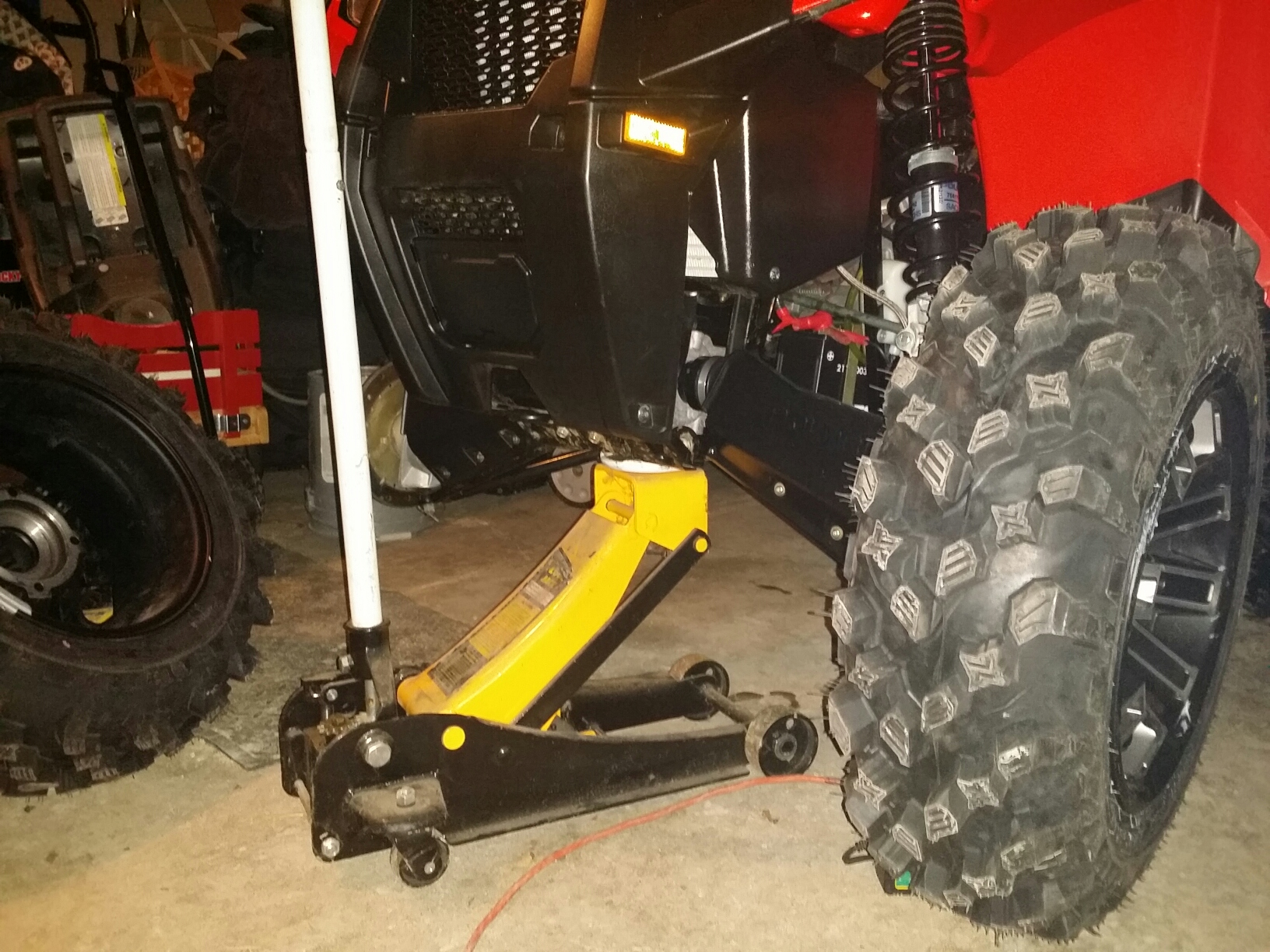 New 570 Jacking Question Polaris Atv Forum