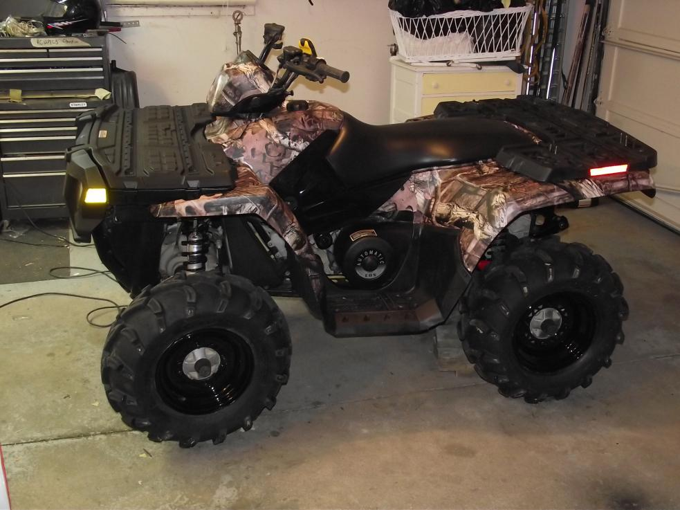 Camo Wrapping The 850 Xp Page 3 Polaris Atv Forum
