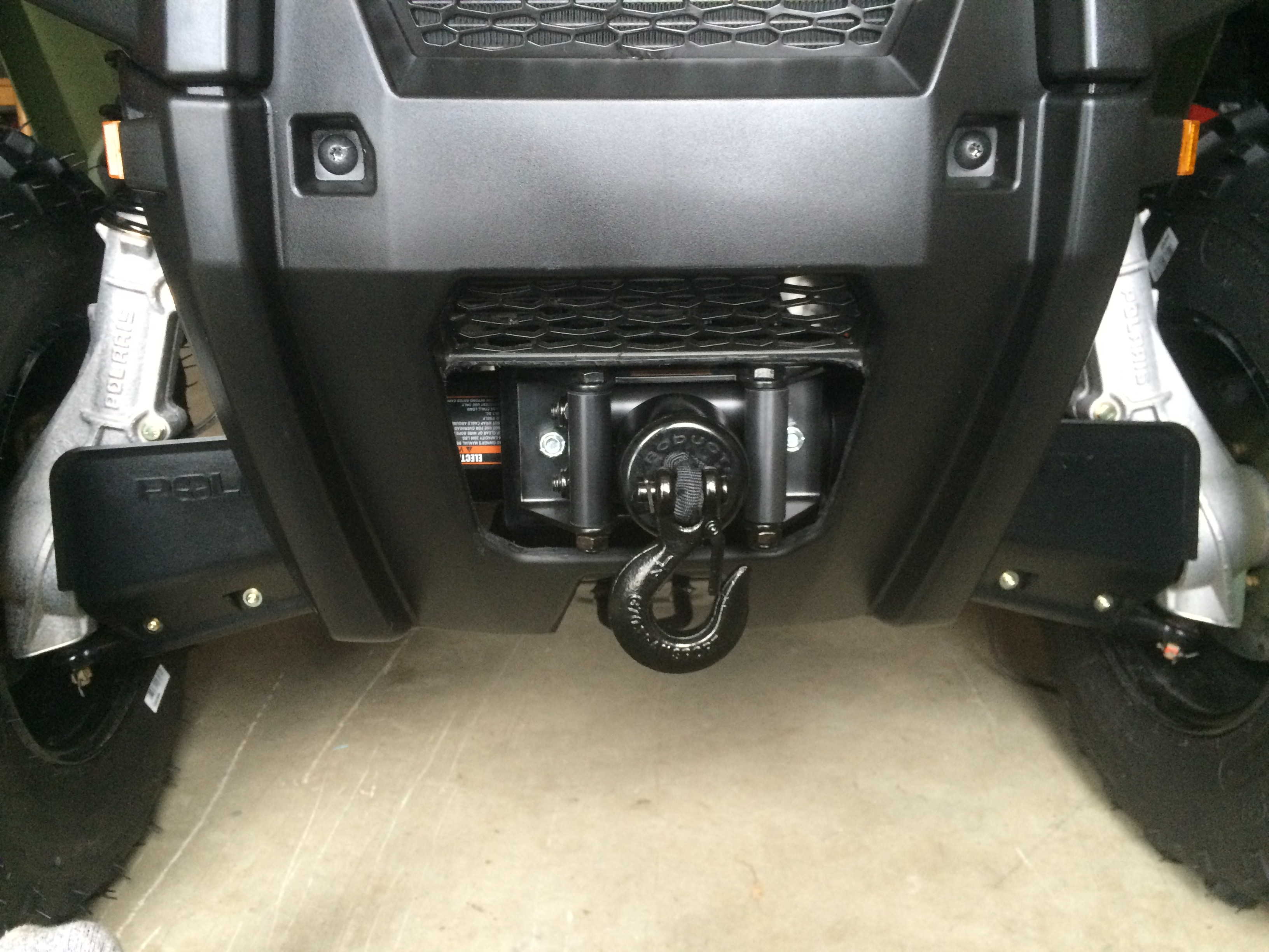 Polaris Ranger Kfi Winch Wiring Diagram Will Be A Wire 2004 Sportsman 500 3500 Stealth Installed Atv Forum Rh Polarisatvforums Com 90