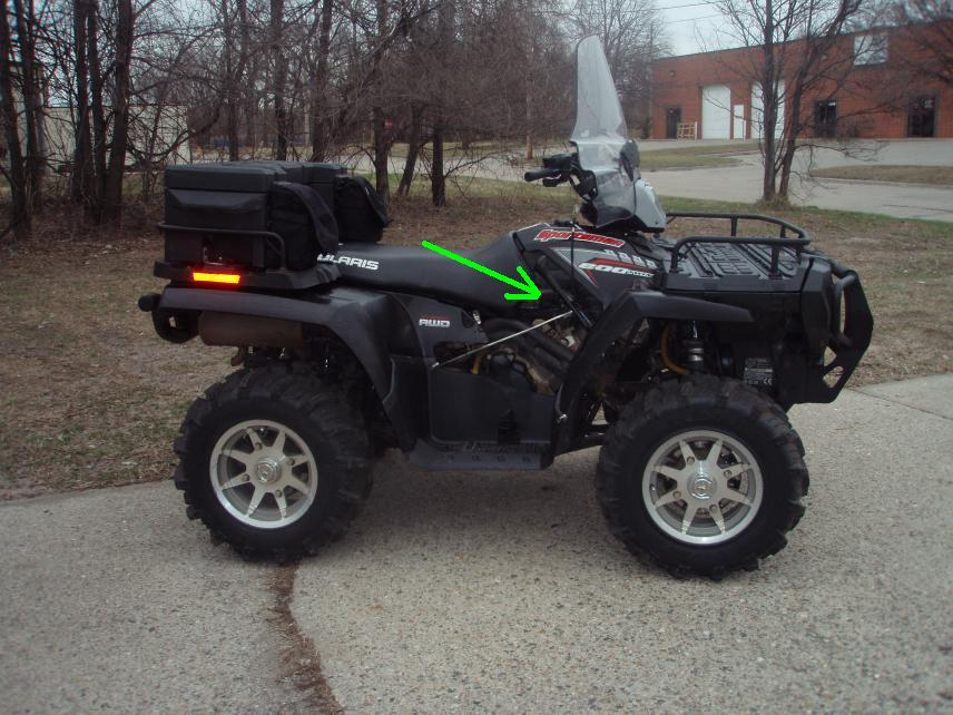 07 Polaris Sportsman 800 Efi Deluxe For Sale Polaris