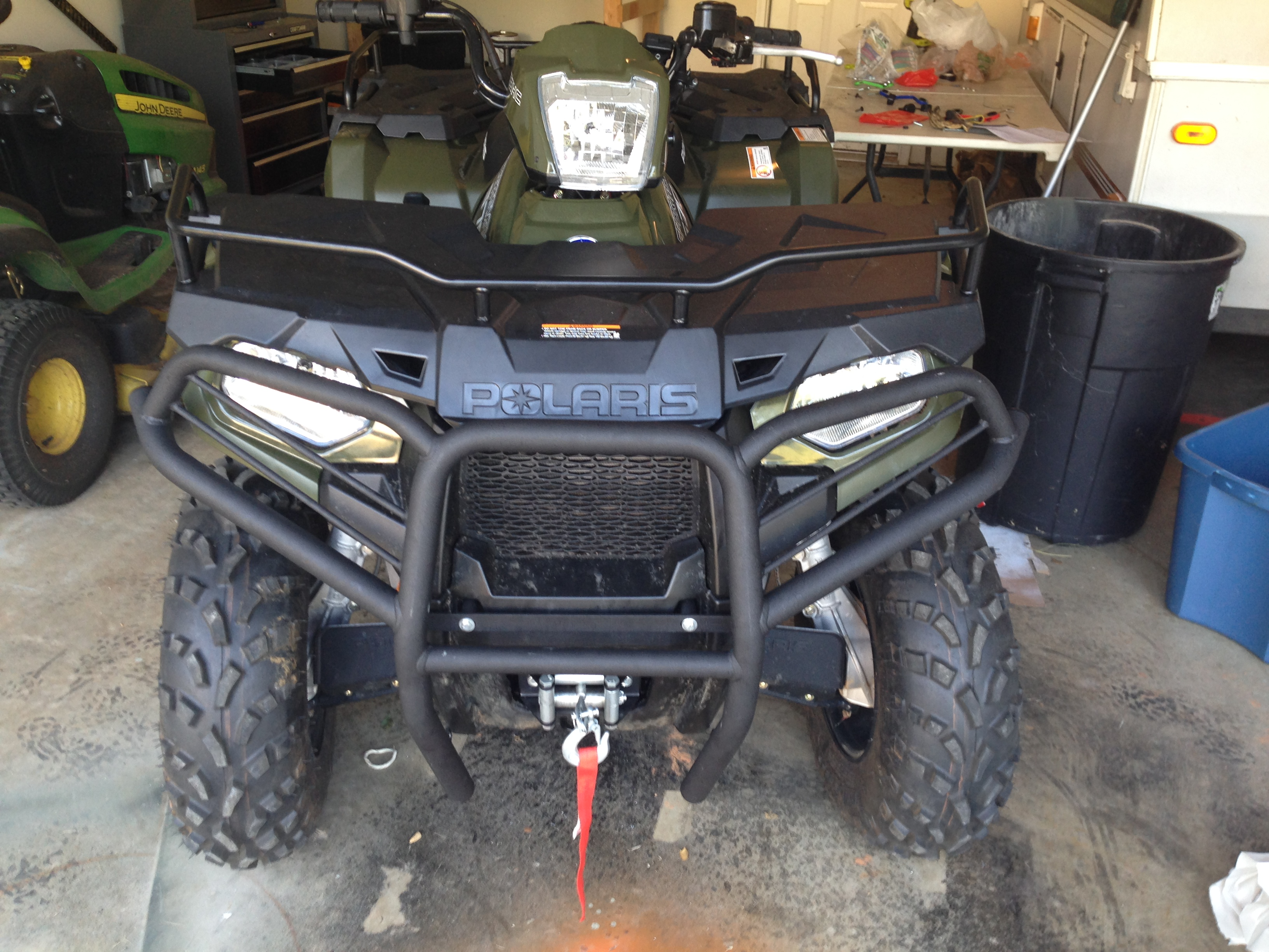 Bison Bumpers Heads Up For 570 Owners Polaris Atv Forum