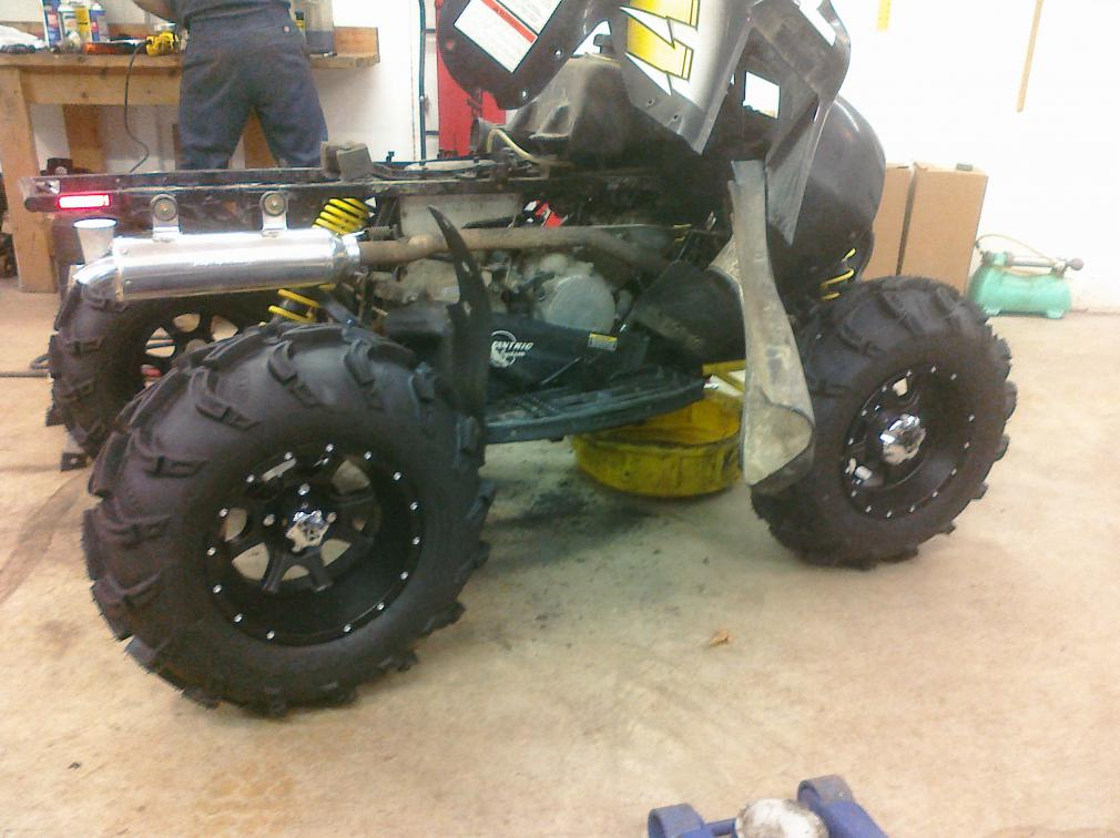 Scrambler 500 Project Polaris Atv Forum