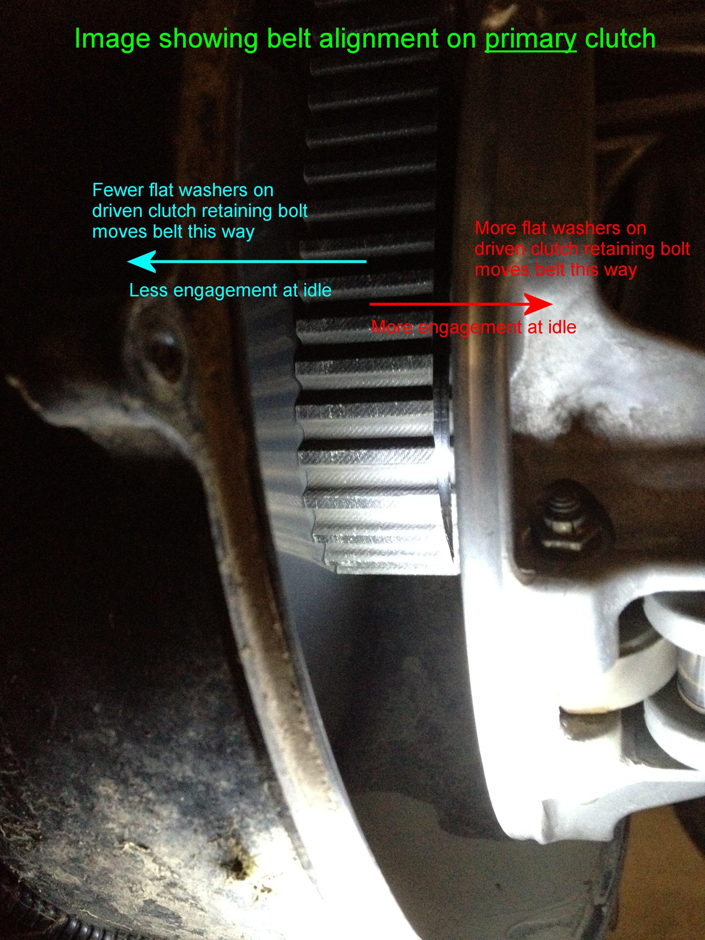 2015 Can Am >> How to shim Polaris XP secondary clutch - Page 4 - Polaris ATV Forum