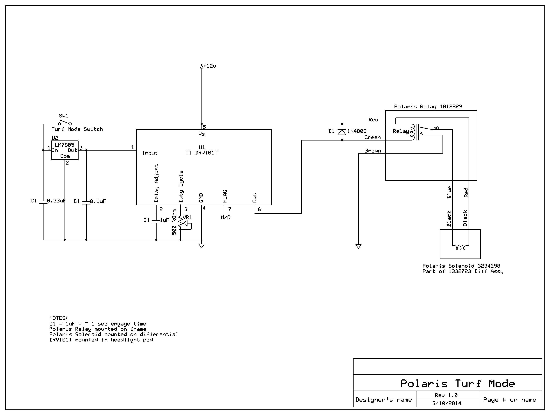 Rzr Xp 1000 Wiring Diagramon Polaris Ranger 500 Wiring Diagram