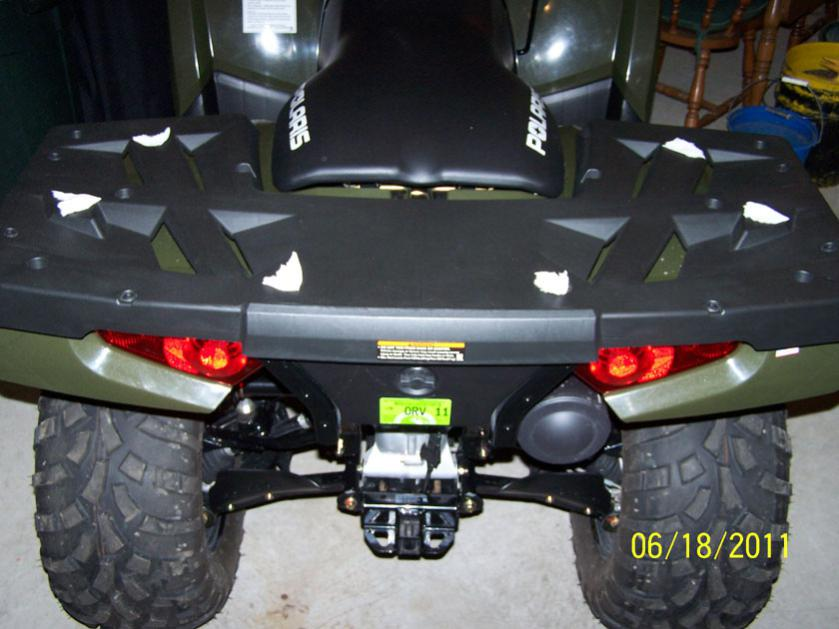 Polaris Sportsman 800 >> 2011 - 800efi Front and Rear Racks - Polaris ATV Forum