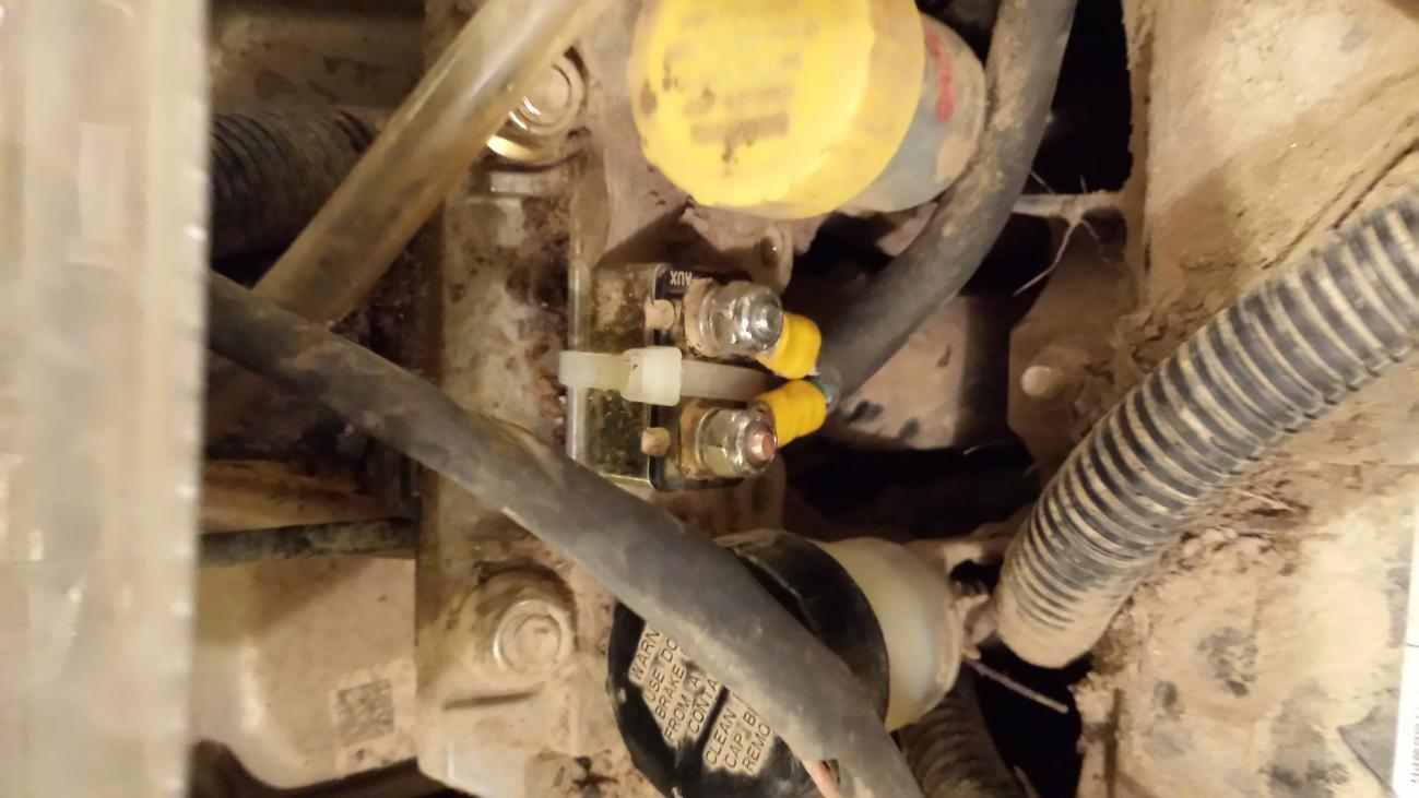 overheating solved with fan circuit breaker relocation