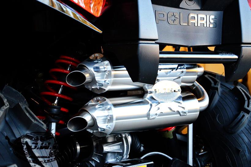 sportsman 1000 exhaust polaris xp touring atv forum