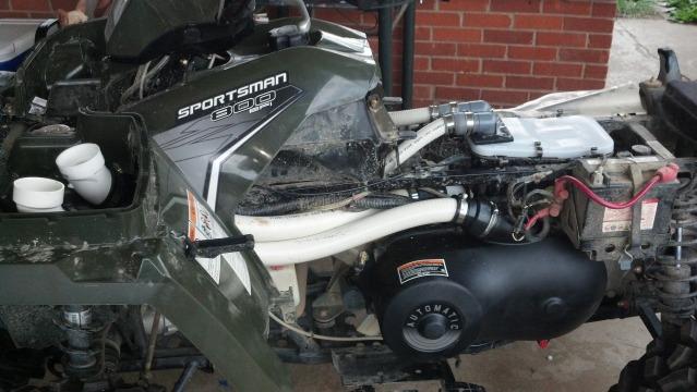 Bed Liner Spray >> `12 sportsman 800 custom snorkel - Polaris ATV Forum