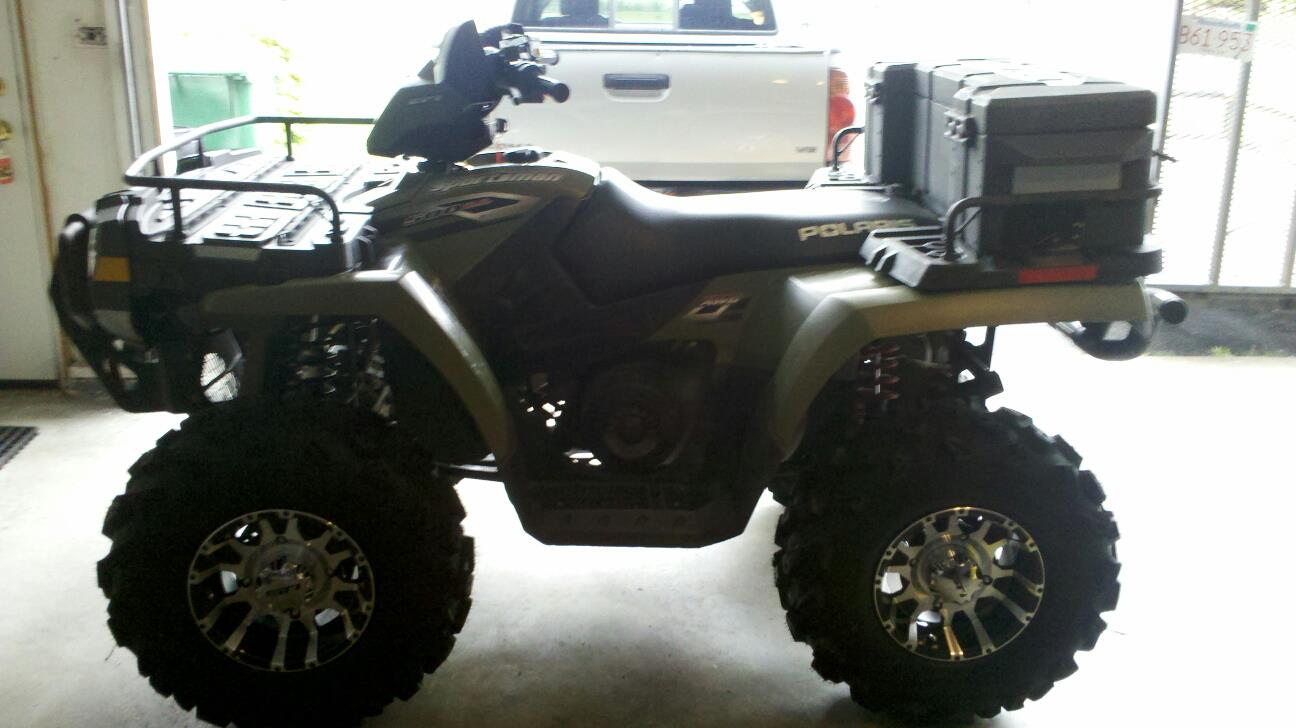 Four Wheeler With Rims: Wheel And Tire Pics Thread!!!!!