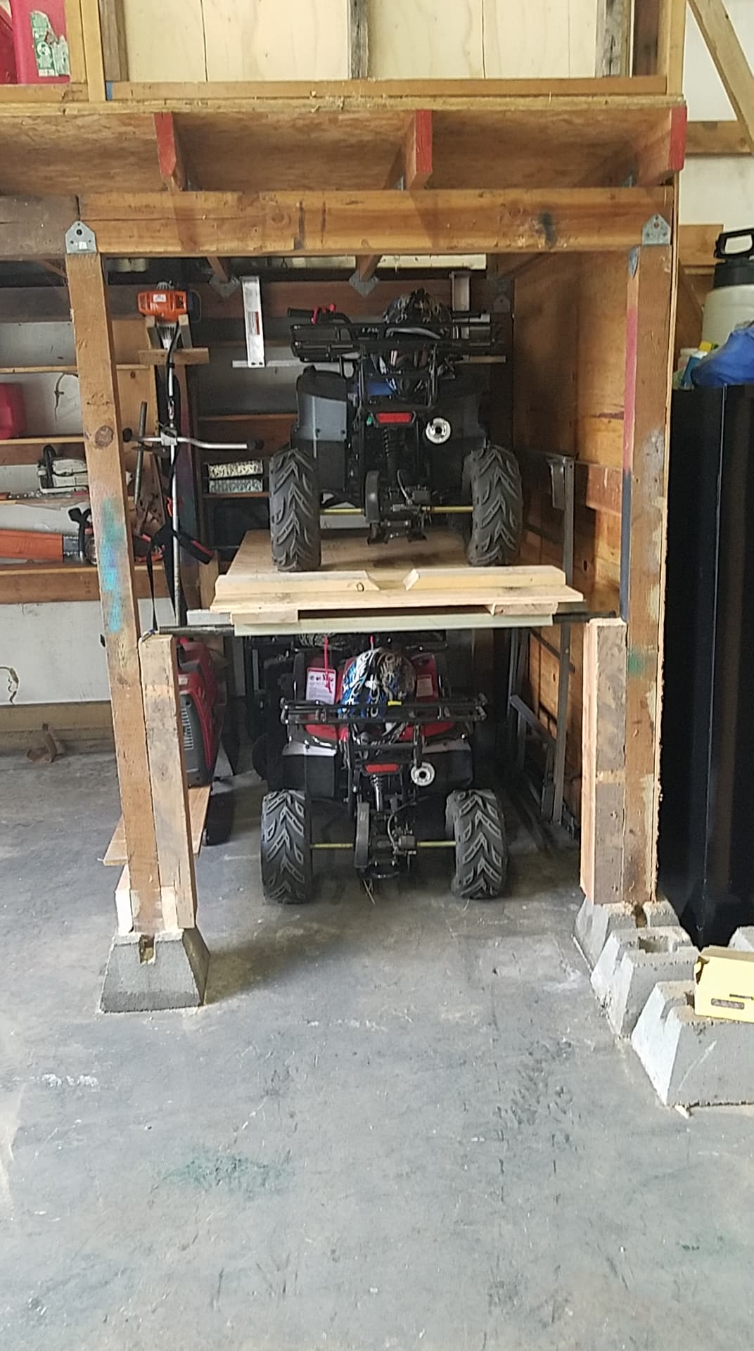 Stacking Quads For Storage What Have You Done Polaris