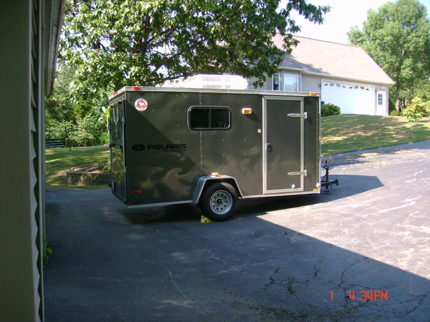 5' x 8' enclosed trailer? - Polaris ATV Forum