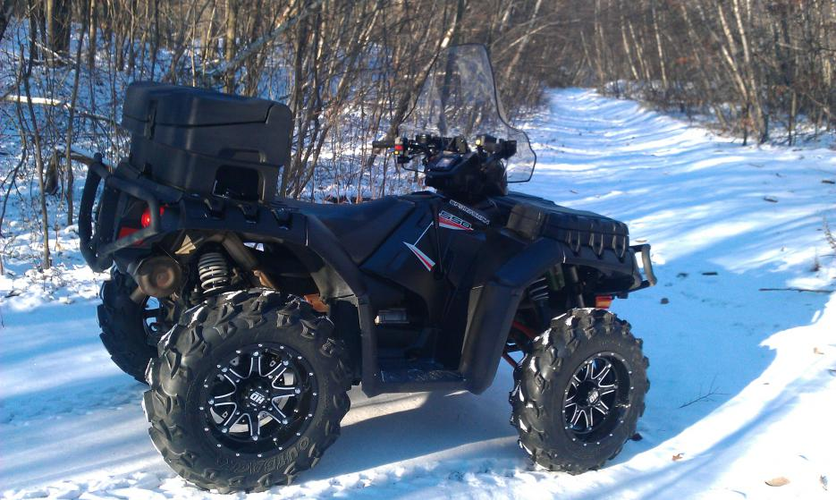 Bias Ply Tires >> My new Bling from STI - Polaris ATV Forum