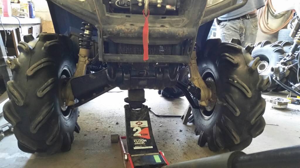 Highlifter arched and forward a arms - Polaris ATV Forum