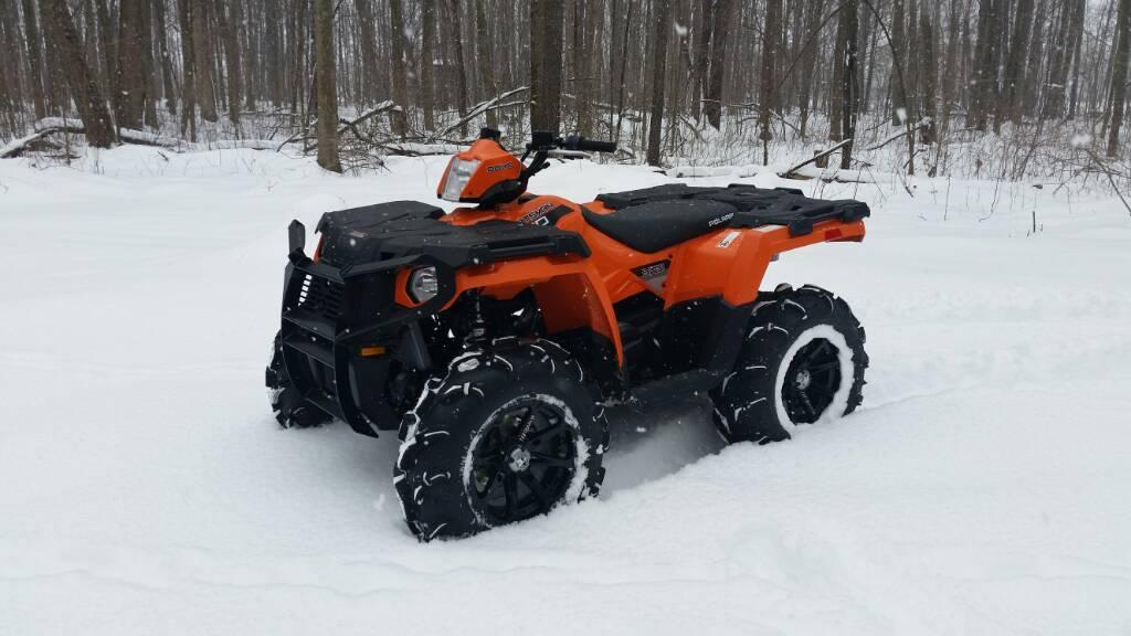 Polaris Sportsman 400 >> Picked up my new orange sportsman 570 today - Polaris ATV Forum