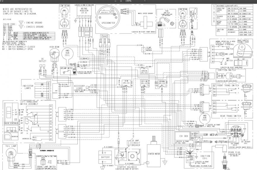 Polaris 500 Sportsman Wiring Diagram 2006 – 2006 Polaris Sportsman ...