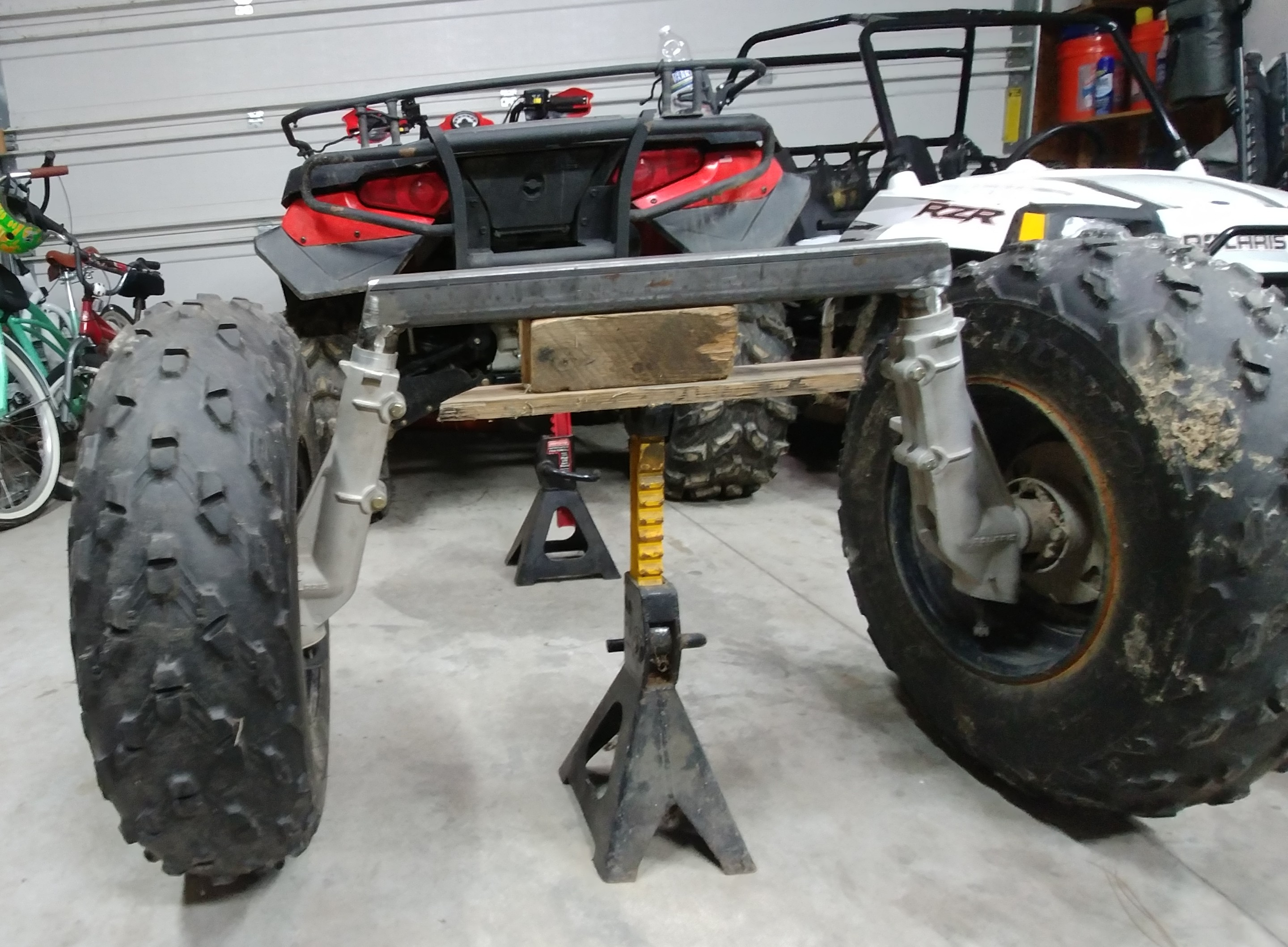 Off-road Trailer Build Using Polaris parts-xmember-height.jpg