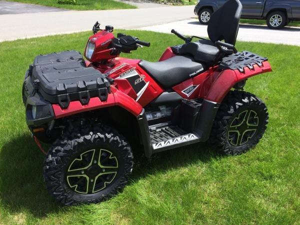 Showcase cover image for EatingDirt's 2016 Polaris Sportsman Touring 850 SP