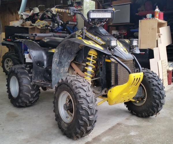 Showcase cover image for tekrsq's 2005 Polaris Scrambler 500 4x4