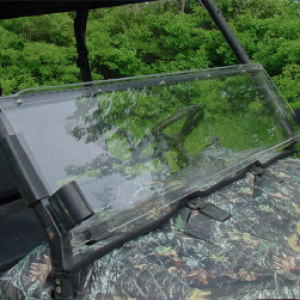 Polaris windshield