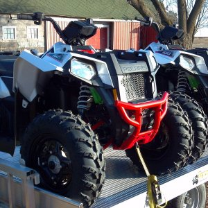 2013 Polaris Scramblers 850 XP Coming Home